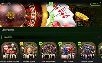 Screenshot 2 888 Casino