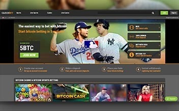 Screenshot 1 Cloudbet Casino