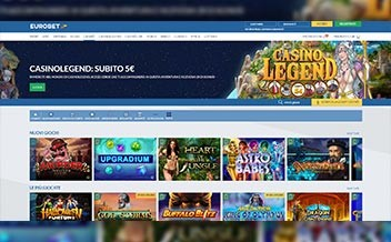 Screenshot 1 Eurobet Casino
