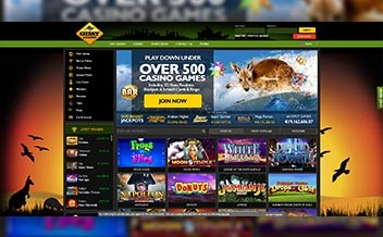 Screenshot 1 GDay Casino