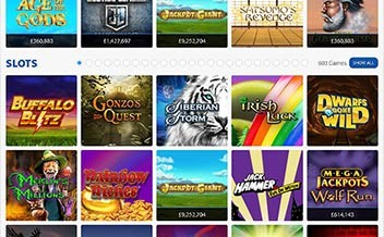 Screenshot 2 BGO Casino