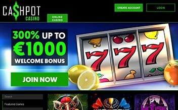 Screenshot 1 Cashpot Casino
