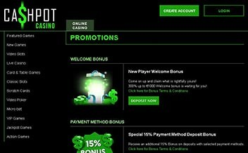Screenshot 4 Cashpot Casino