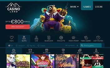Screenshot 3 Casinoland