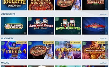 Screenshot 2 Eurobet Casino