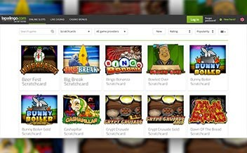 Screenshot 2 Lapalingo Casino