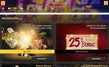 Screenshot 2 LVbet Casino