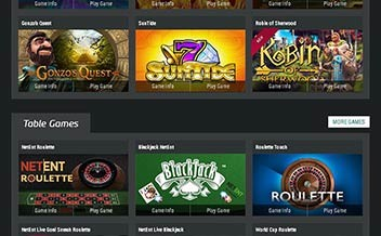 Screenshot 1 Mybet Casino