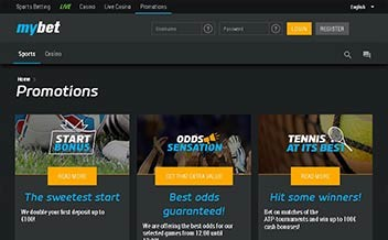 Screenshot 3 Mybet Casino