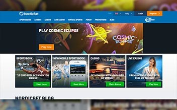 Screenshot 1 Nordicbet Casino