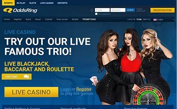 Screenshot 4 OddsRing Casino