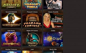 Screenshot 3 Osiris Casino