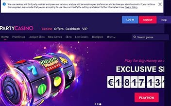 Screenshot 4 PartyCasino