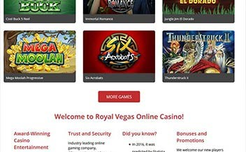 Screenshot 3 Royal Vegas Casino