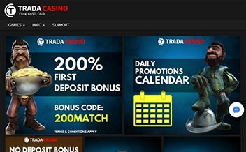 Screenshot 2 Trada Casino