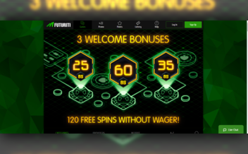 Screenshot 1 Futuriti Casino