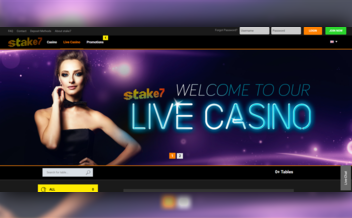 Screenshot 2 Stake7 Casino
