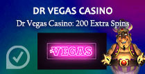Dr. Vegas Casino 200 Extra Spins