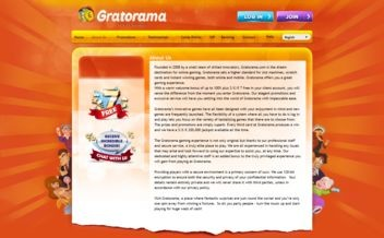 Screenshot 1 Gratorama Casino